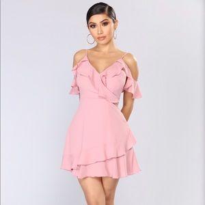 Fashion Nova Mauve Dress
